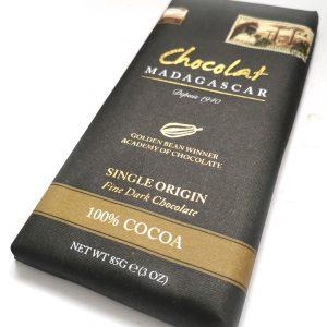 Chocolat Madagscar 100% Dark