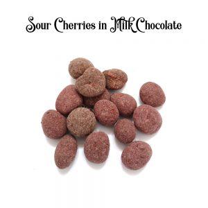 Sour Cherries in Milk Chocolate